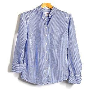 J. CREW • Haberdashery Button Down Striped Shirt